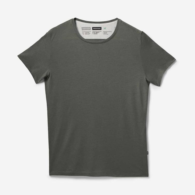 MALE T-SHIRT DUSTY OLIVE E721-66