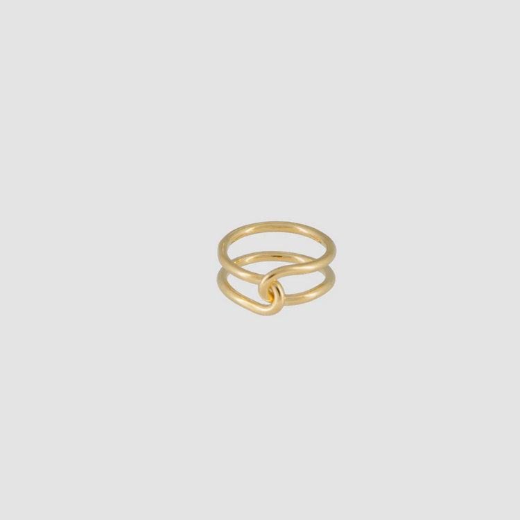 Loop Ring Thick Gold