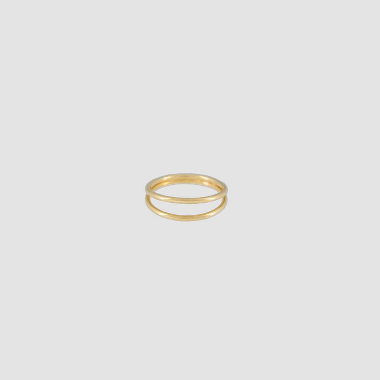 Simple Ring Double Gold